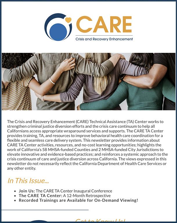 CARE Newsletter Summer 2021